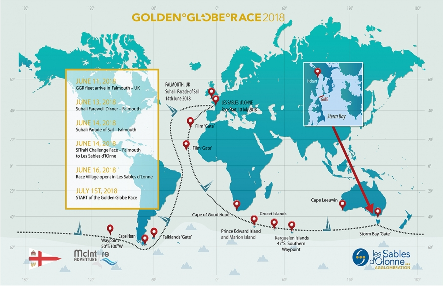 2018 Golden Globe Race: 23 skippers confirmed at the Paris Boat Show