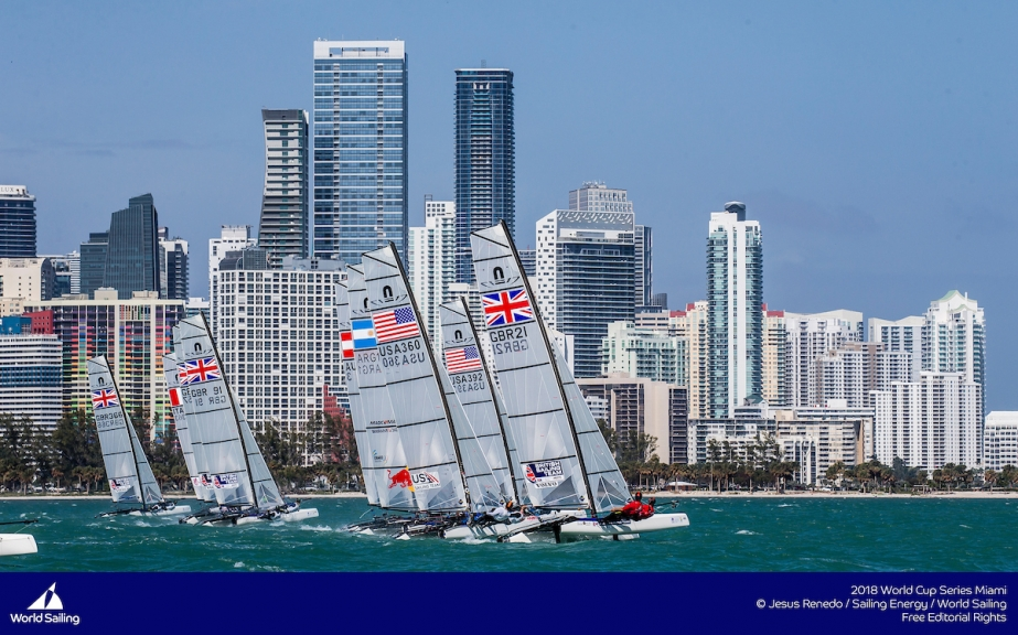 Forward Planning: Champions return to 2019 Hempel World Cup Series Miami
